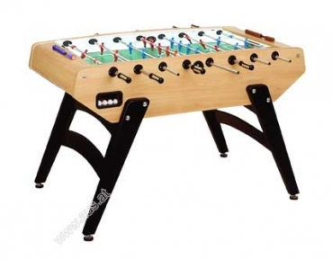 Football Table Garlando G5000, Glass Playfield, players blue/red