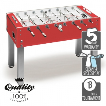 Football Table Garlando Business red
