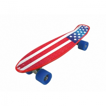 Cruiser Skateboard Freedom Pro USA Flag
