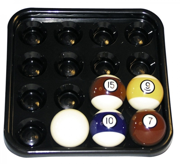 Ball tray for 16 balls