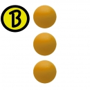 3 Stk Bärenherz Magic Ball Generation 2, soft, orange D: 34,8 mm ca. 20 g