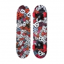 Skateboard Tribe Skulls, multicolored
